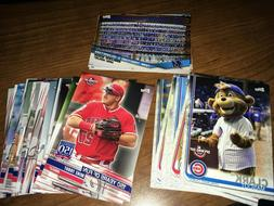 2019 Topps Opening Day Inserts SP 150 Years Complete Your Se