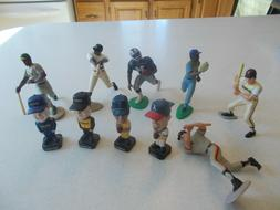 """4 Bobble Heads Baseball Racing 3"""" Post Cereal & 7 Sports Fig"""
