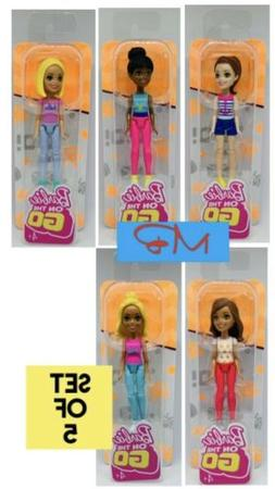 5x barbie on the go 4 inch