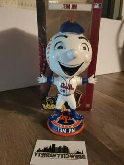 """FOREVER MLB COLLECTIBLES NY METS """" MR. MET """" BOBBLEHEAD BIG"""