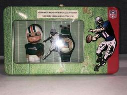 NFL Gametime Miami Dolphin Bobblehead & Watch In Gift Tin