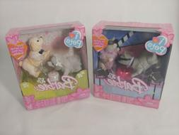Lot of 2 Barbie I Love Pets Puppy Love and Lights Camera Gla