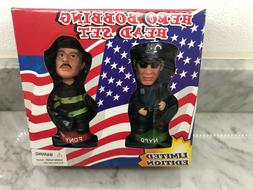 NYPD FDNY 911 Bobble Head Figures Extremely RARE AND HARD TO