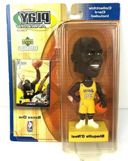 Shaquille O'Neal 34 Lakers Upper Deck Play Makers Collectibl