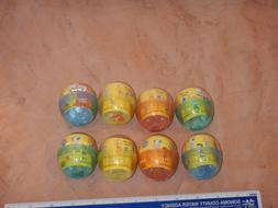 """SIMPSONS 2""""  BOBBLE HEADS SERIES 1 COMPLETE SET OF 8, TOMY,"""