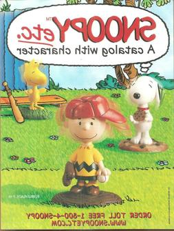 SNOOPY ETC. CATALOG FEATURING BOBBLE HEADS  ~COMPLETE MAGAZI