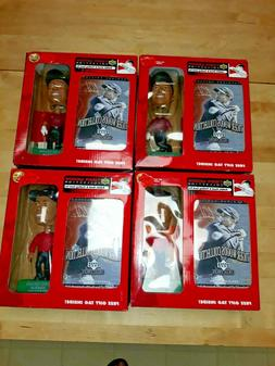 Tiger Woods Upper Deck Bobble Heads & Trading Card complete